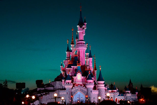 Disneyland Paris castillo