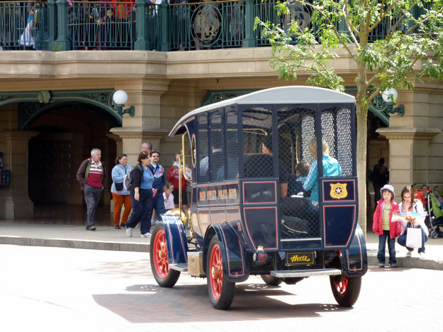 Disneyland Paris coches