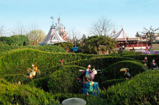 Disneyland Paris laberinto