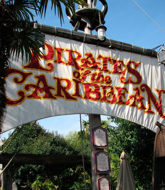 Disneyland Paris piratas caribe