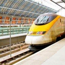 De París a Londres en Eurostar