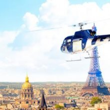 Recorrido en helicóptero por Versalles