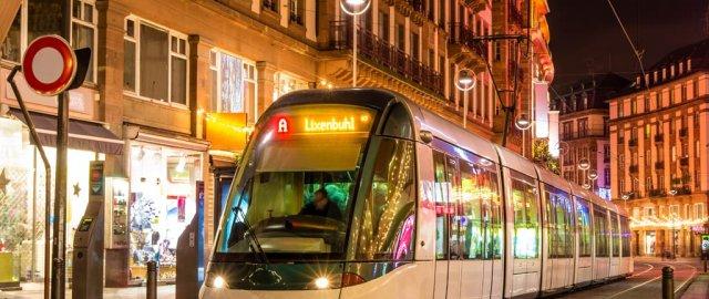 Tranvías en París