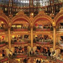 Centro comercial en París