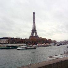 La Torre Eiffel y los Batobus