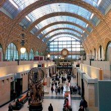Hall del Museo de Orsay