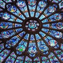 Vidrieras de Notre Dame