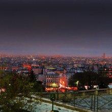 Vistas desde Sacre Coeur