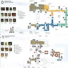 Plano del Louvre (plantas 0 y -1)