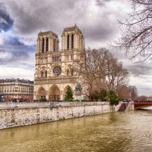 Crecida del Sena en Notre Dame