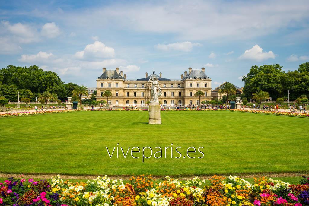 Jardines de luxemburgo los m s bonitos de par s vive paris for Jardines de luxemburgo paris